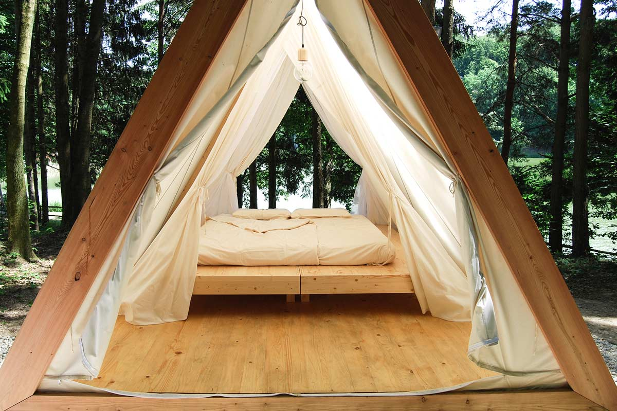 Glamping Lushna True Glamour Is Nature Landscape