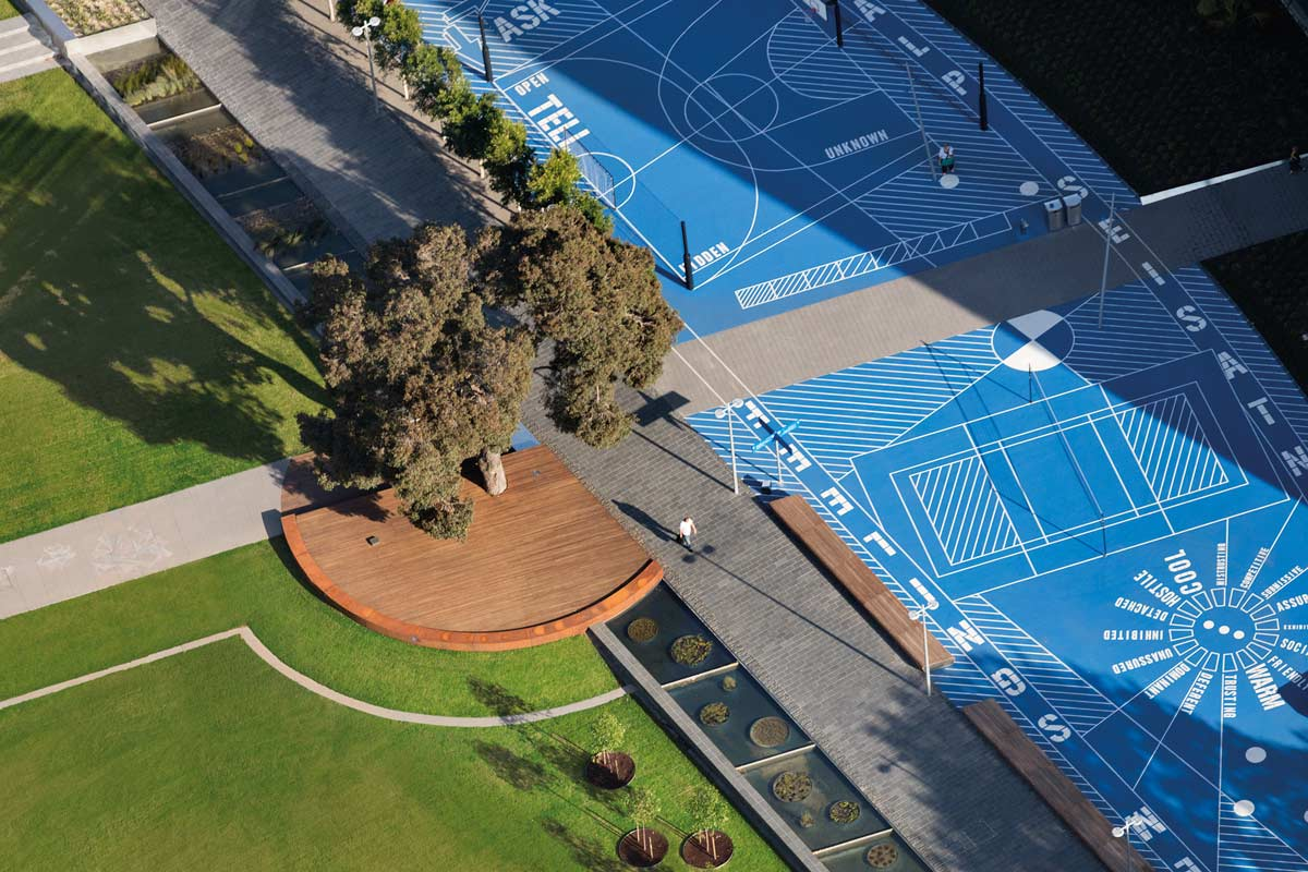 Design Green Landscapes: Monash University Caulfield Campus Green By Taylor Cullity