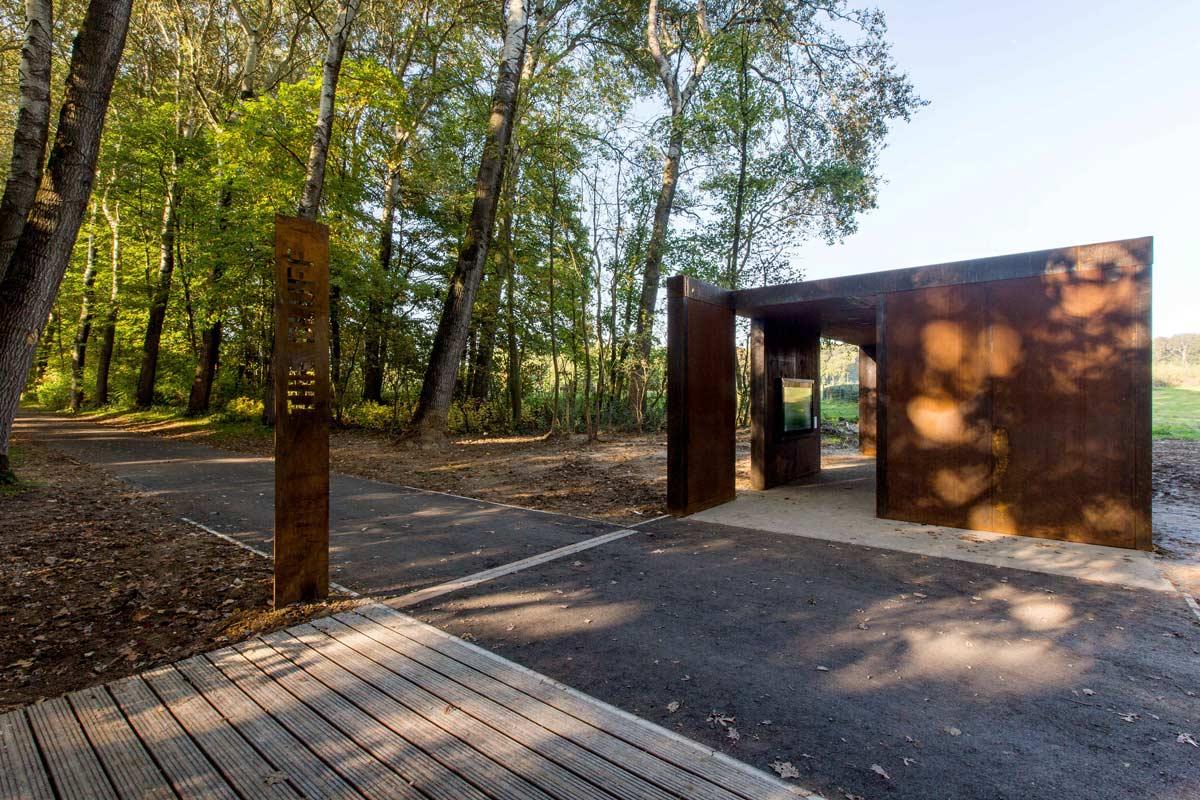 ww1 landscape memorial forest - photo #8