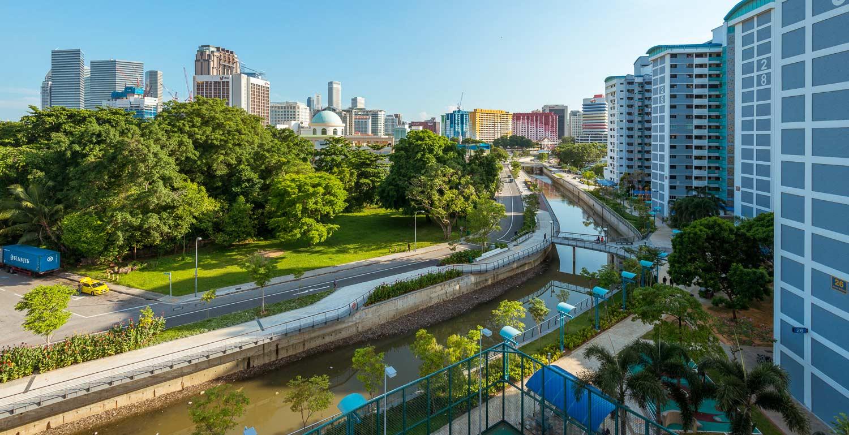 Urban Water Channel River Redesign Ramboll Dreiseitl Landscape Architecture 00  « Landscape Architecture Works | Landezine