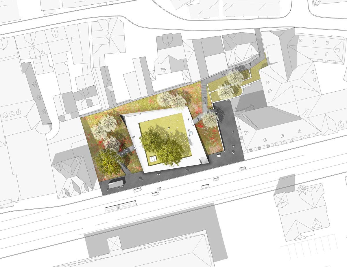 garden of remembrance by scape landschaftsarchitekten landscape architecture works landezine. Black Bedroom Furniture Sets. Home Design Ideas
