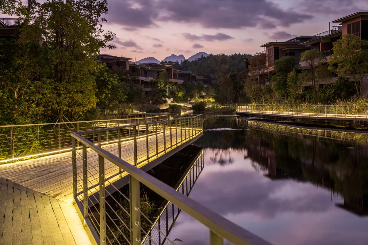 Fuzhou vanke yongtai residential park swa group 03 for Swa landscape architecture
