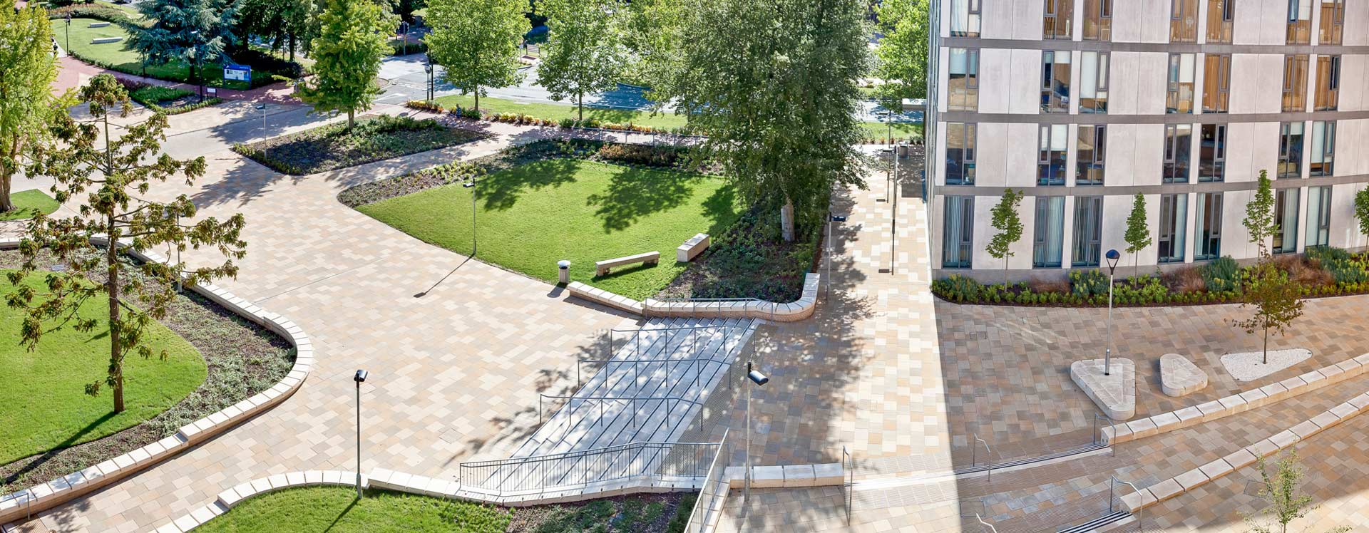 University of southampton campus landscape architecture for Garden design university