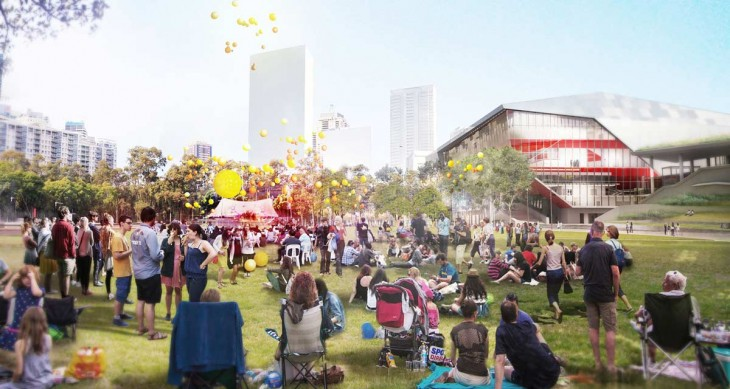 Darling Harbour Transformation. Imagery by HASSELL