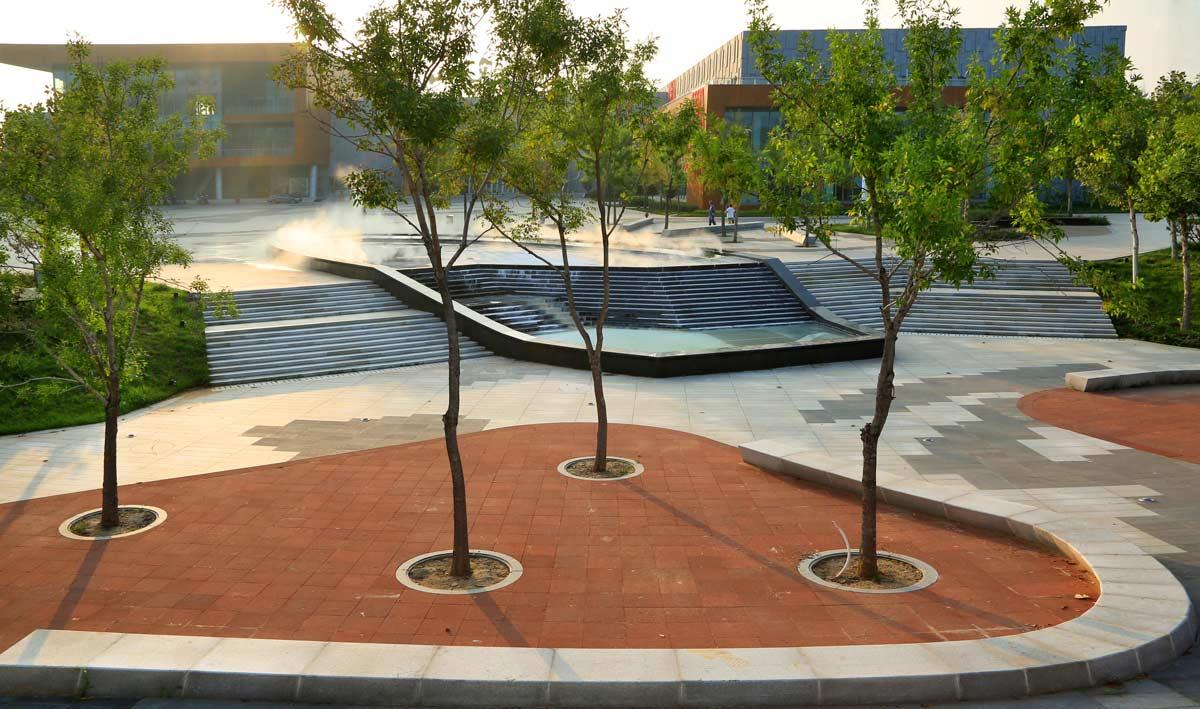 Cultural Plaza Park 16 Landscape Architecture Works