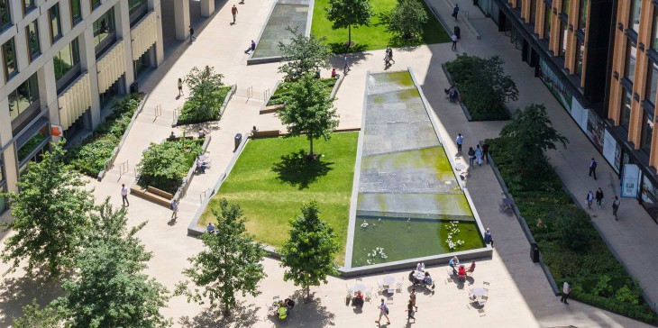 Pancras Square by Townshend Landscape Architects