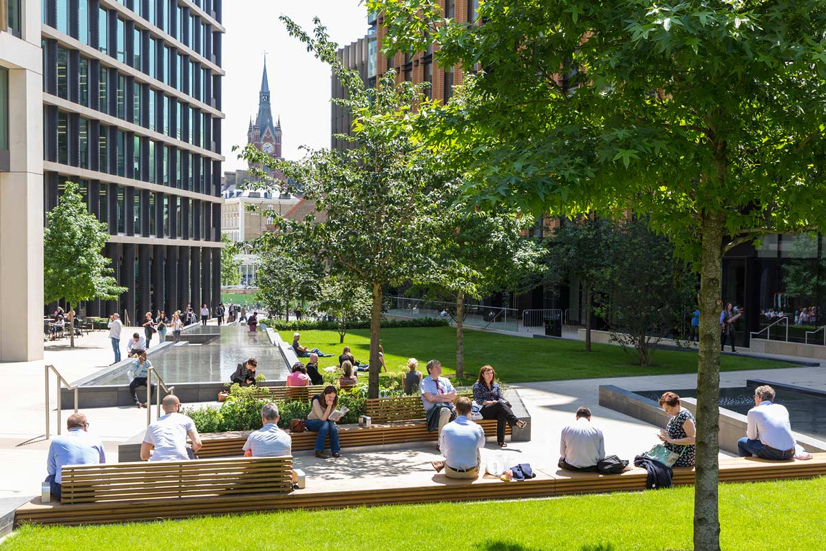 Pancras Square By Townshend Landscape Architects
