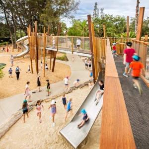 Children learn through sand water play