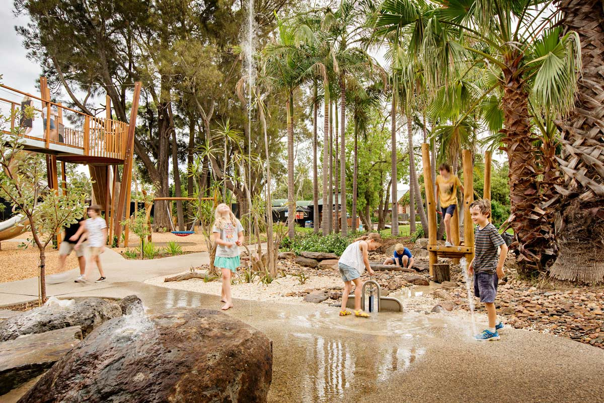 Adelaide Zoo Play Space Nature Wax Design 04 Landscape Architecture Works Landezine