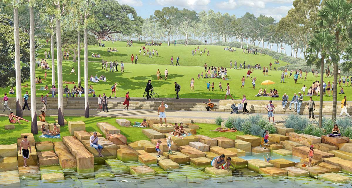 Barangaroo reserve by pwp landscape architecture for Tract landscape architects