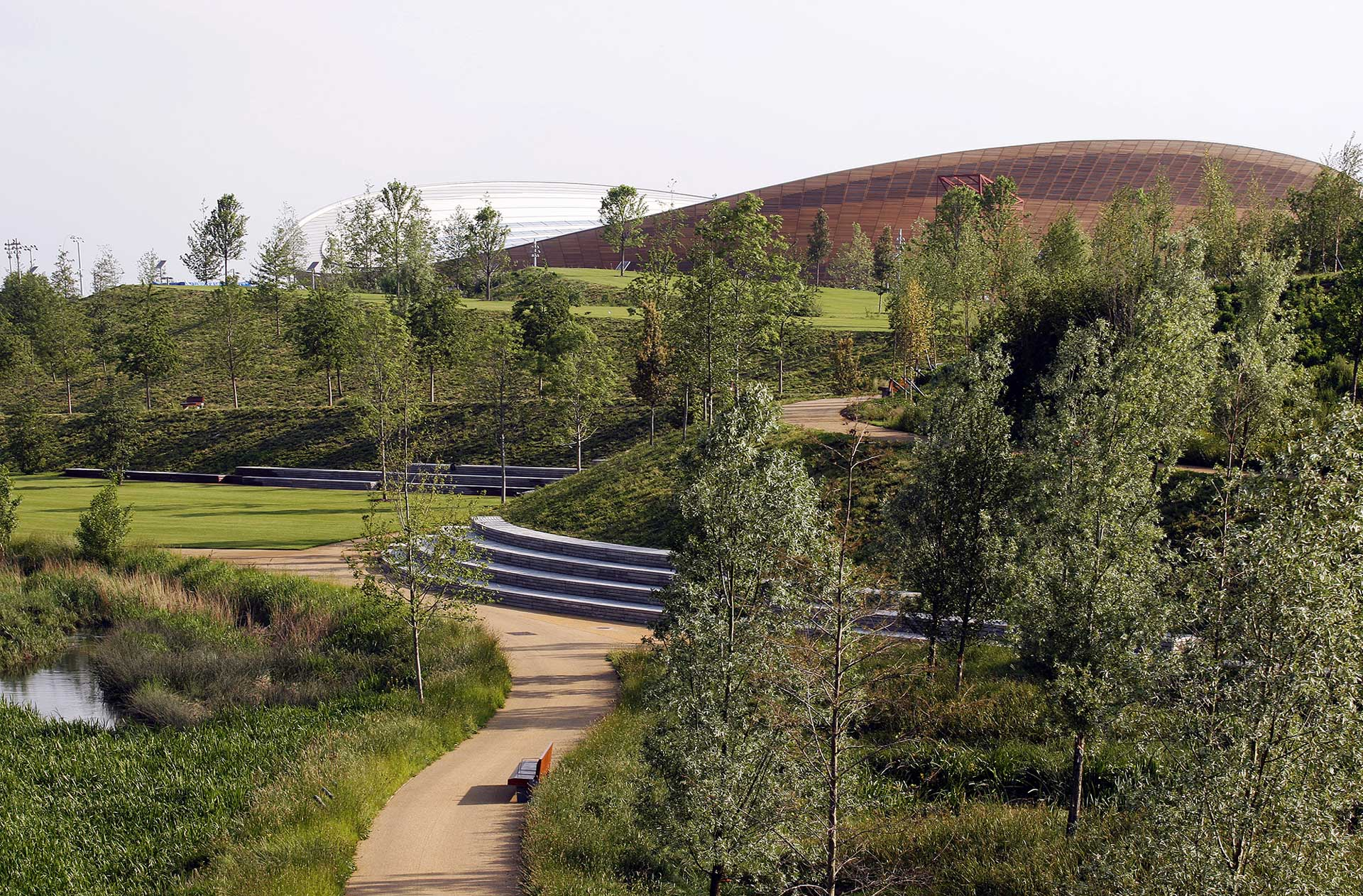 Queen elizabeth olympic park 01 landscape architecture for Garden design queens park