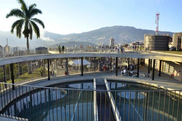 Water reservoirs as public park Medellin Colombia Anibal Gaviria Mayor of Medellin-2