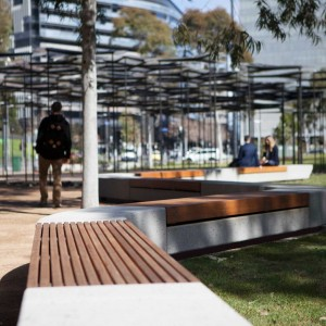 Docklands city park melbourne stage 1 by mala studio for Residential landscape architects melbourne