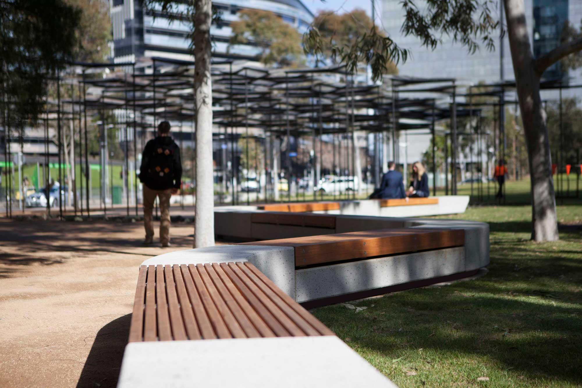 Docklands City Park Melbourne Stage 1 By Mala Studio