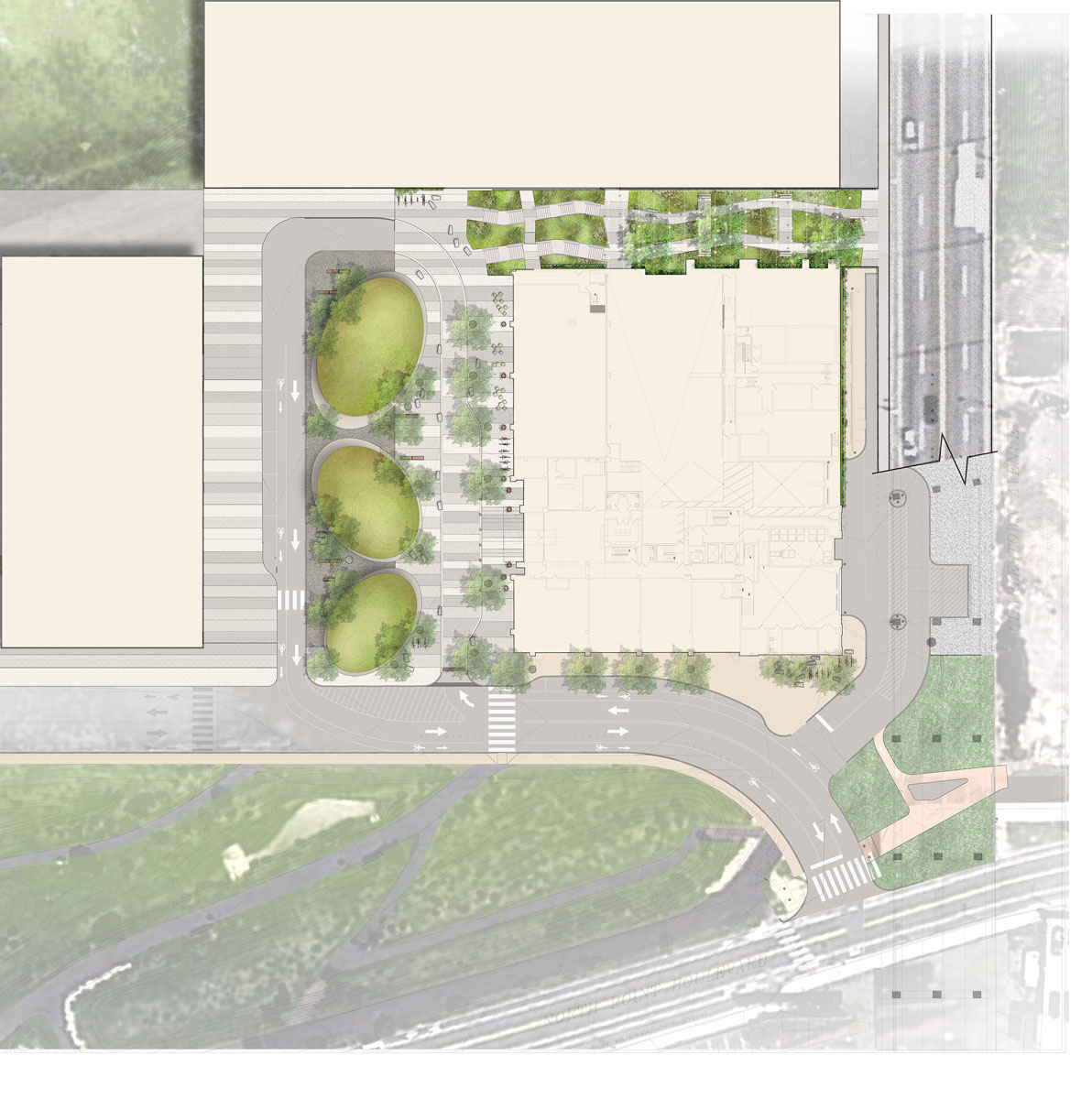 Public Plaza And Coorporate Roof Garden Landscape Architecture Massachusetts 14 Works