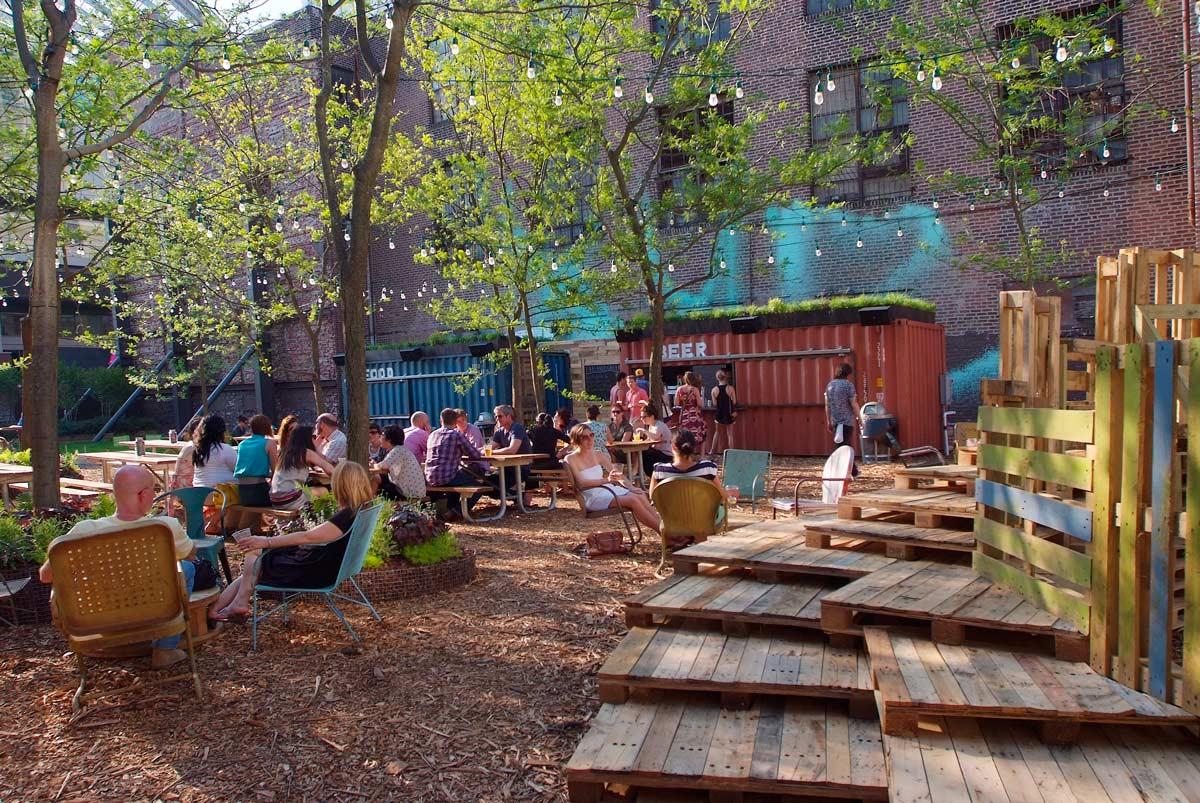 PHS Pop Up Beer Garden 1 Landscape Architecture Works