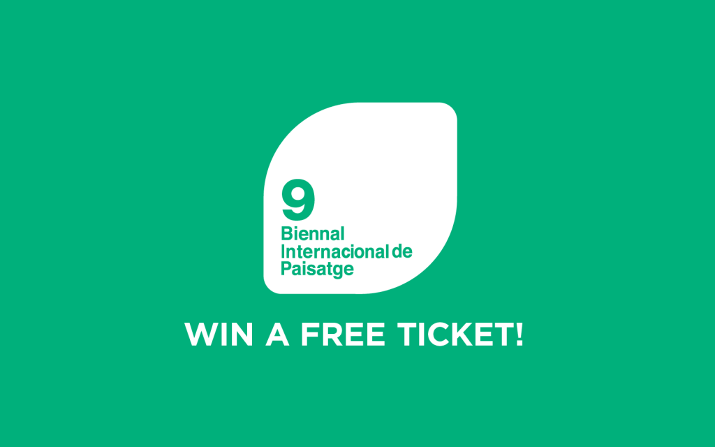Send one or more suggestions for the best built landscape architecture project located in Barcelona and win a free ticket for the Biennial!