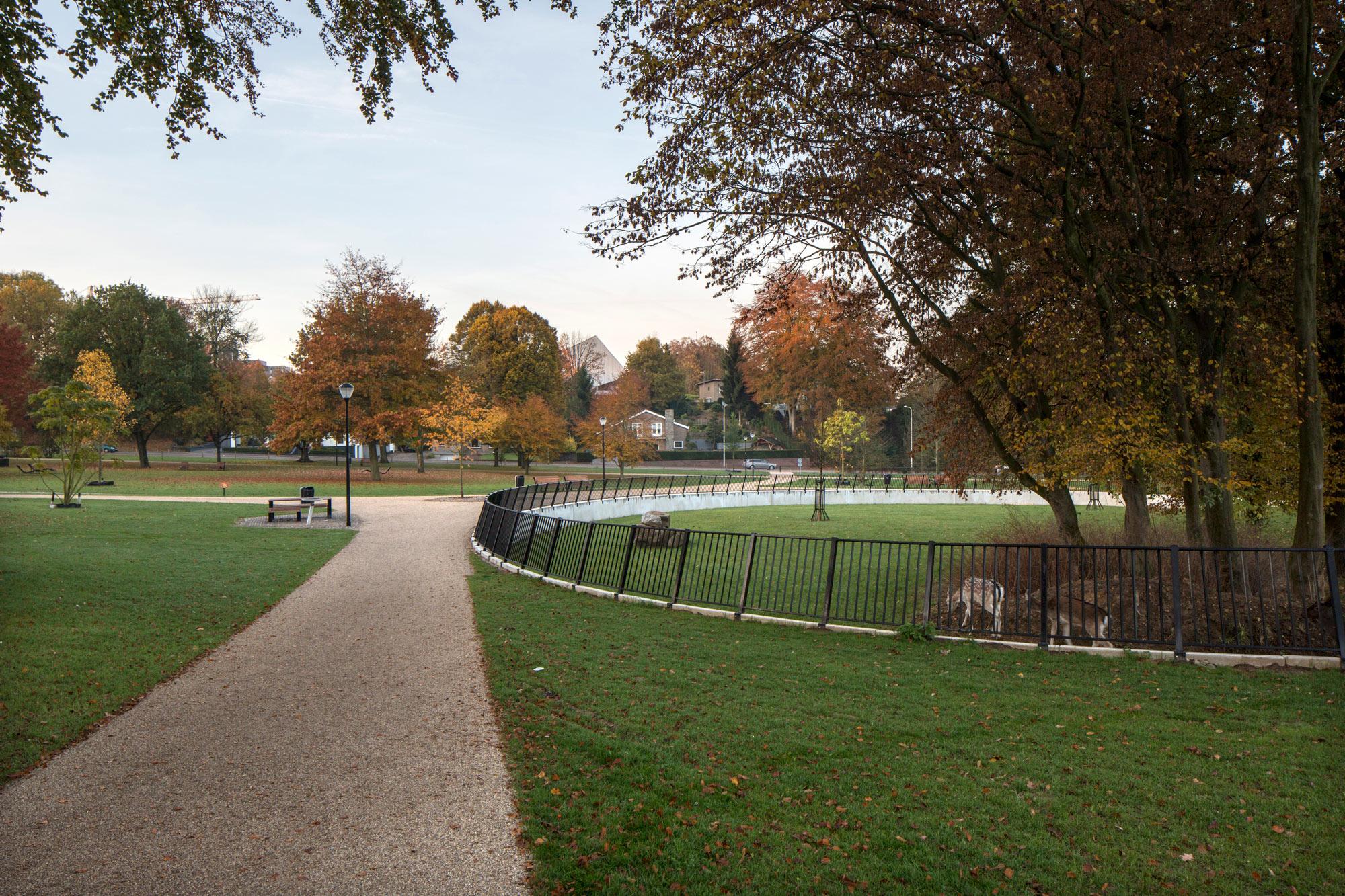 Wijkeroogpark velsen by bureau b b and atelier de lyon « landscape