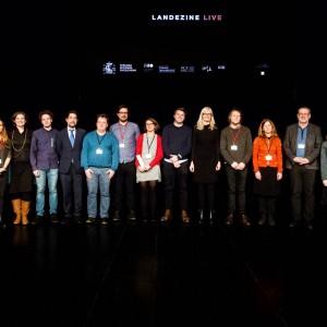 Landezine LIVE speakers + entire Felixx team