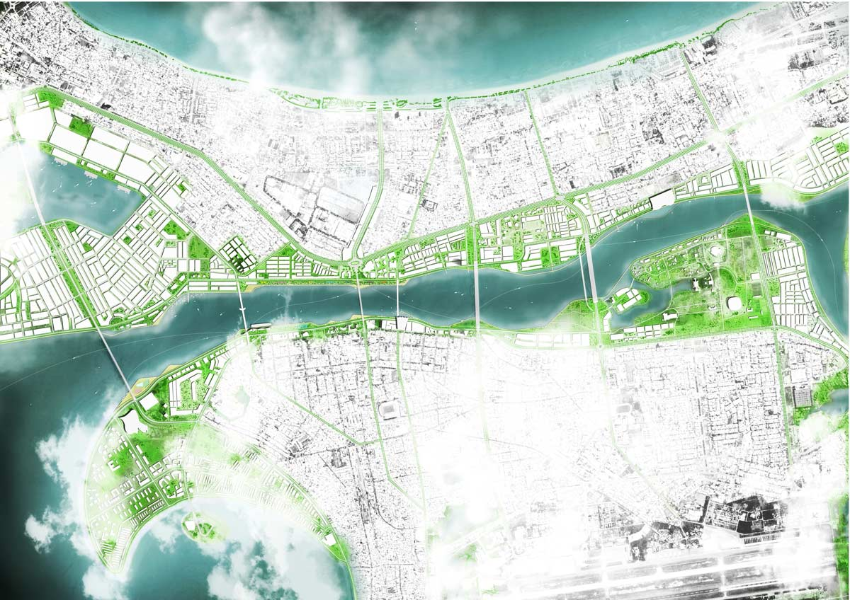 International landscape design competition for han river for Architecture 2017