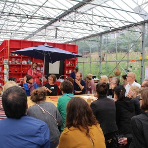 July 2014: Discussion between client, community and artists to expand the biennale
