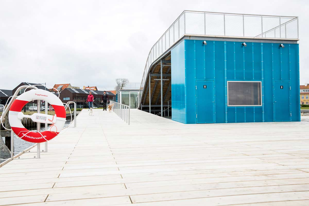 Faaborg harbor bath 10 urban agency landscape for Landscape architects bath