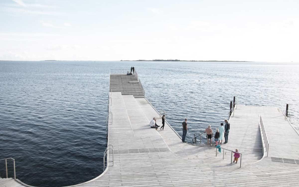 Faaborg harbor bath 16 urban agency landscape for Landscape architects bath