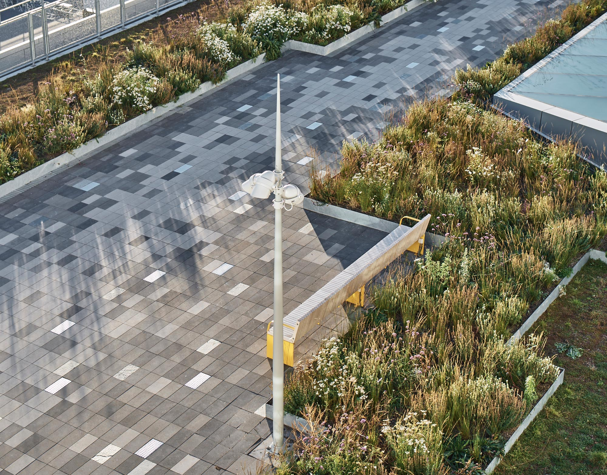 Plans Design Stockholm Roof Garden Ferry Terminal 09 171 Landscape