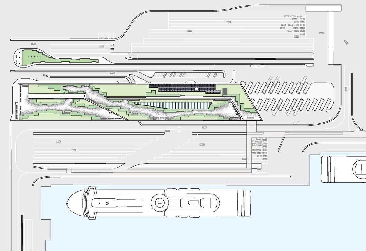 The V 228 Rtan Ferry Terminal Stockholm 171 Landscape