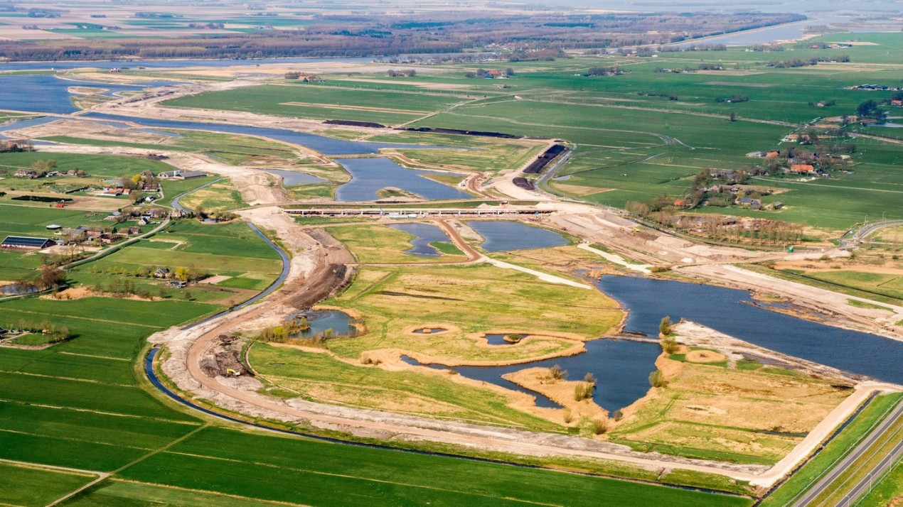 Bypass Reevediep in construction 1 photo- Ruimte voor de Rivier IJsseldelta