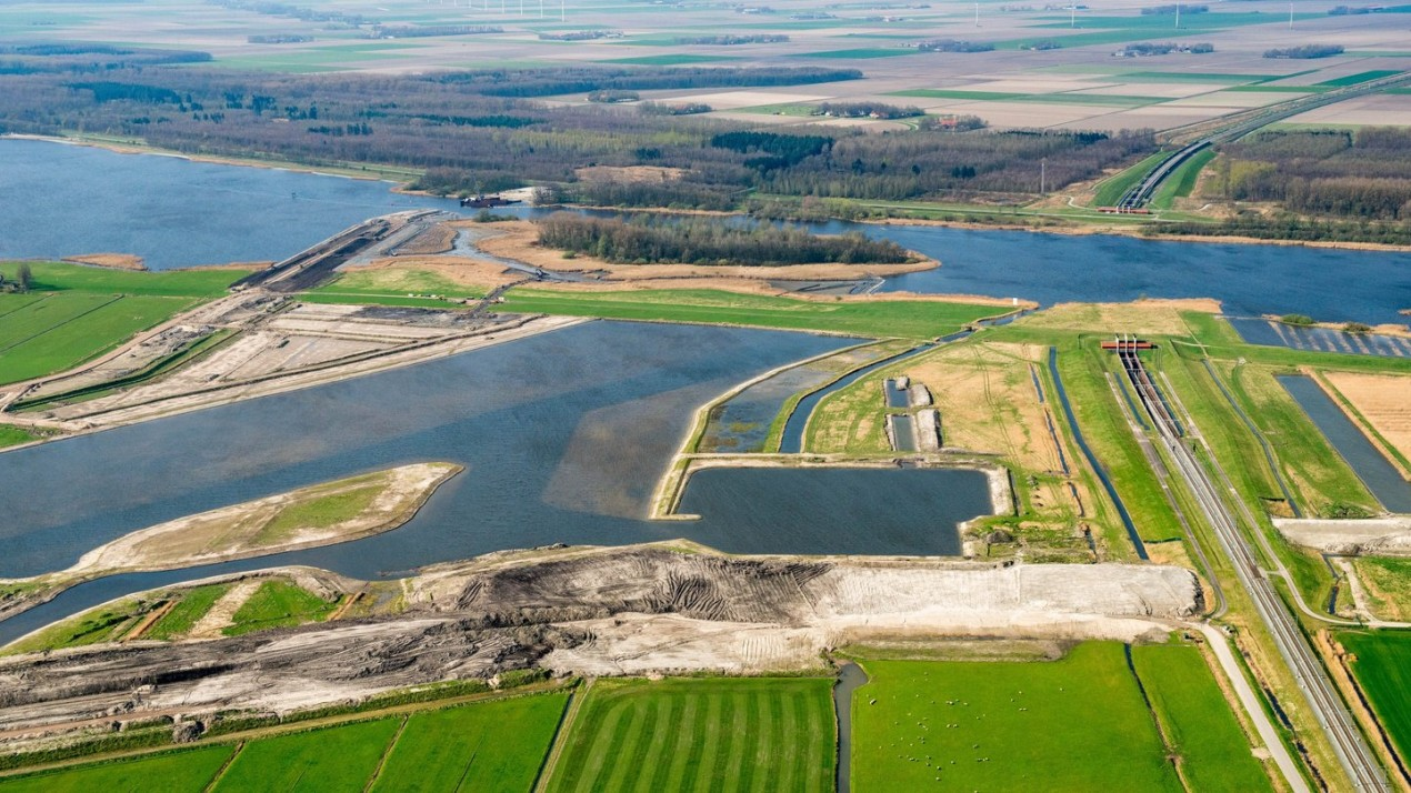 Bypass Reevediep in construction 2 photo- Ruimte voor de Rivier IJsseldelta