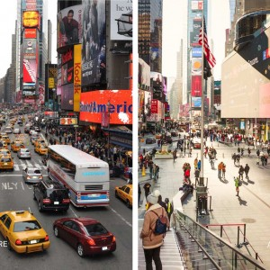 Before: NYC DOT After: © Michael Grimm