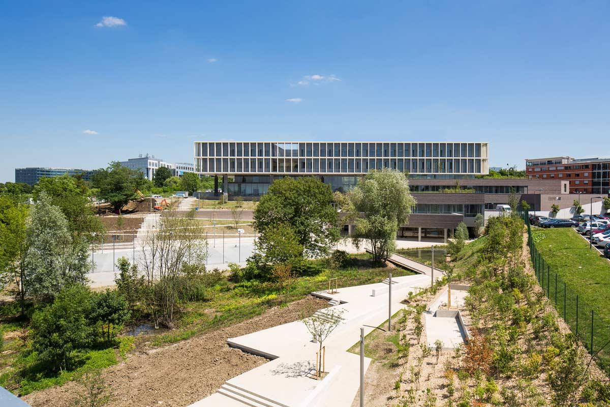 Office profile ateliers 2 3 4 landscape architecture Architecture noisy le grand