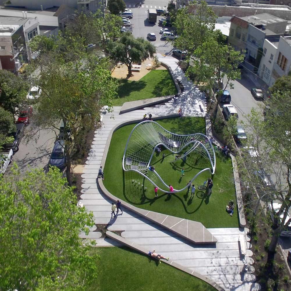 South park san francisco by fletcher studio landscape for San francisco landscape architecture