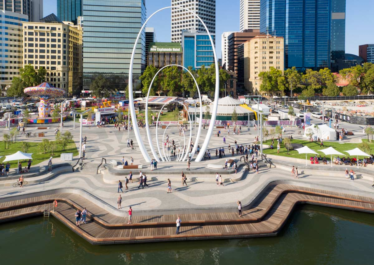 Elizabeth Quay By Tcl In Collaboration With Arm