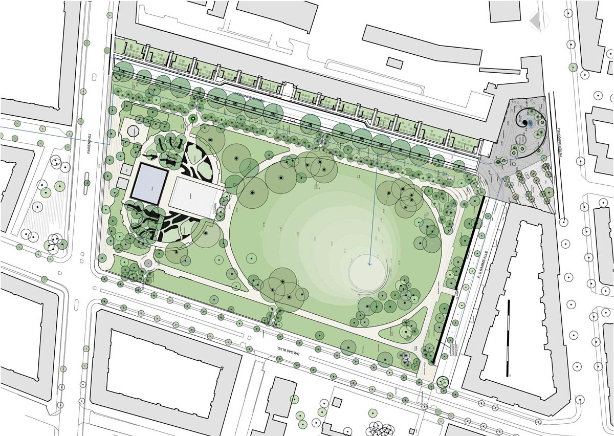 Landscape Architecture Marianne Levinsen Name Of The Project Lindevangs Park Situation Frederiksberg Denmark Completion Date 2015