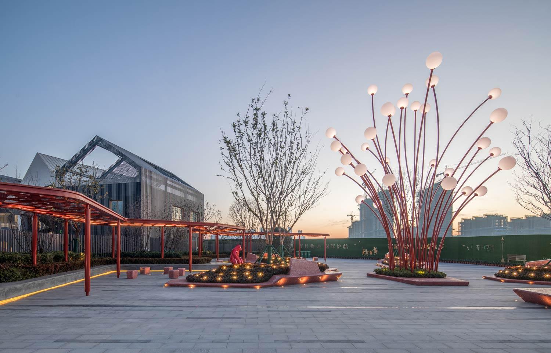 Hefei wantou vanke paradise art wonderland by aspect for Aspect studios