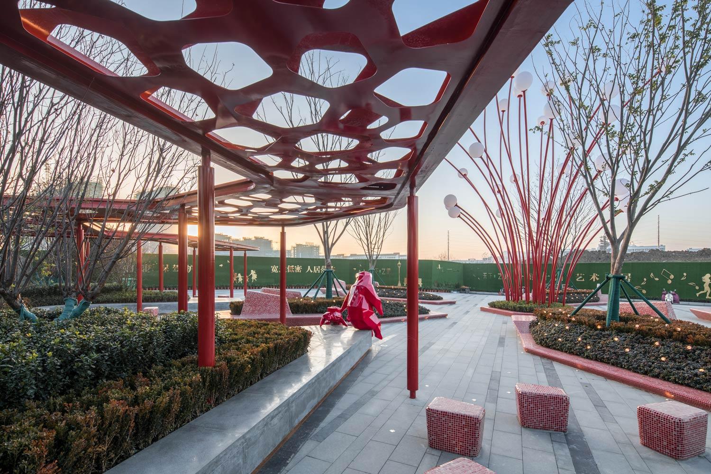 Hefei wantou vanke paradise art wonderland by aspect for Aspect landscape architects