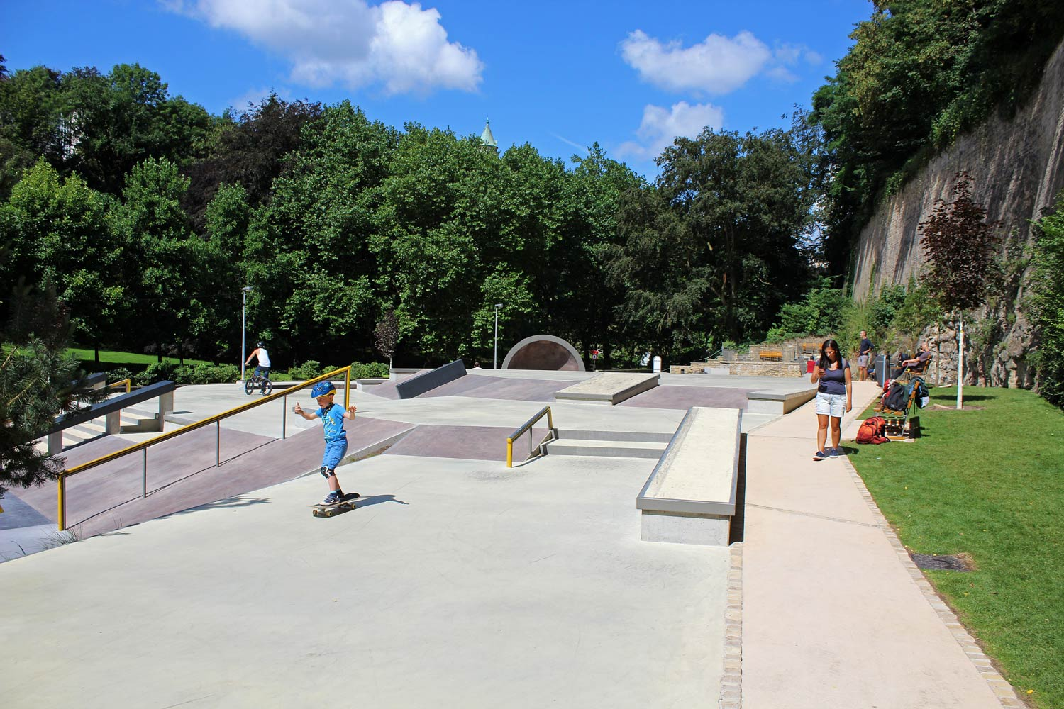 6fa9f1e125 The whole project has been designed by the French company Constructo  Skatepark Architecture