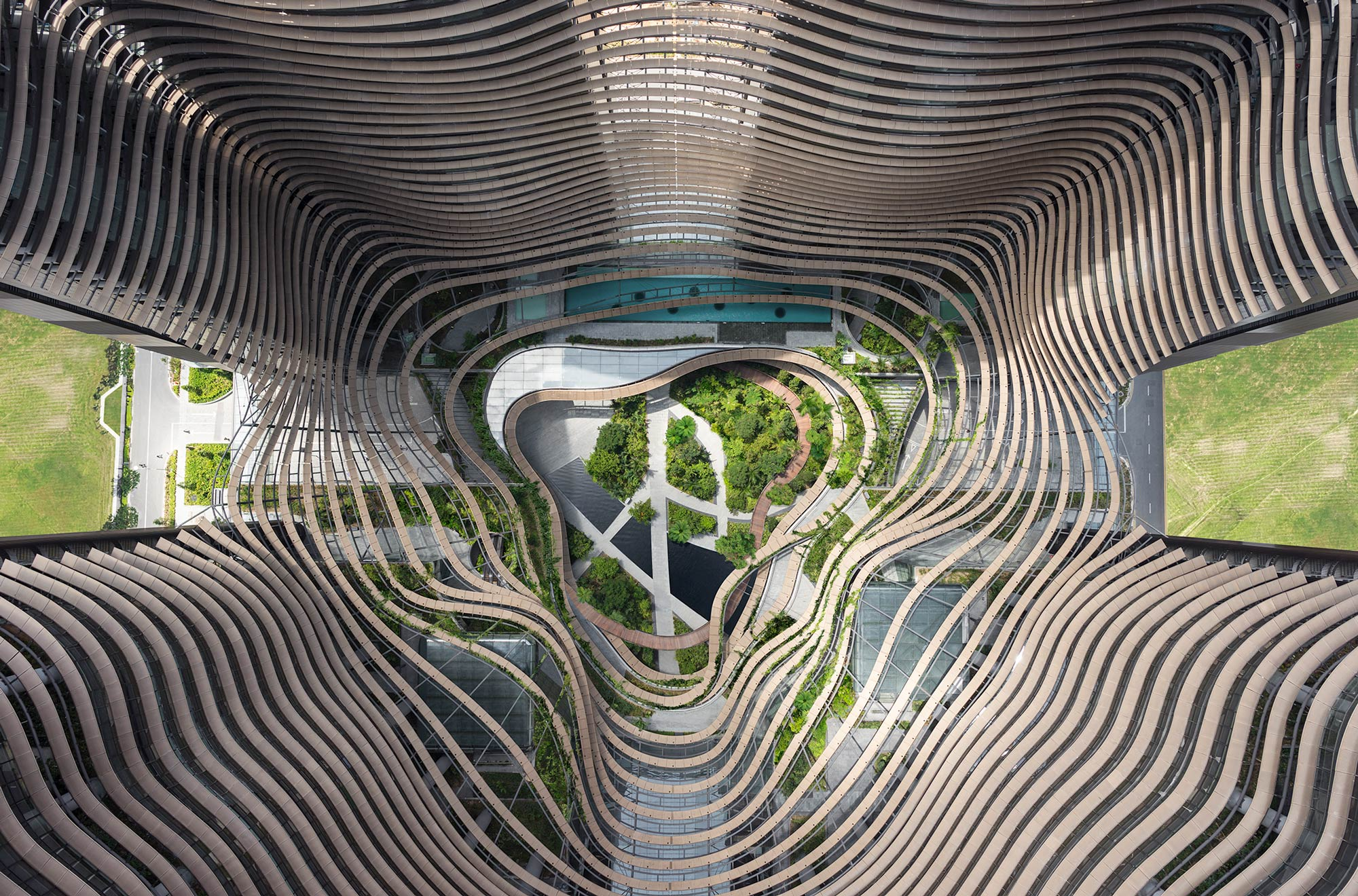 Marina One by Gustafson Porter + Bowman « Landscape Architecture
