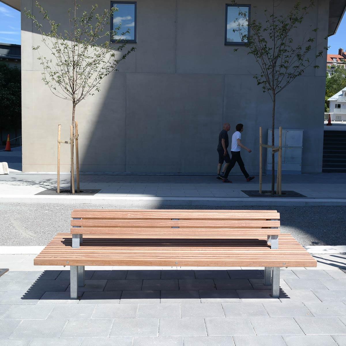 Long Amp Lean Benches 171 Landscape Architecture Platform