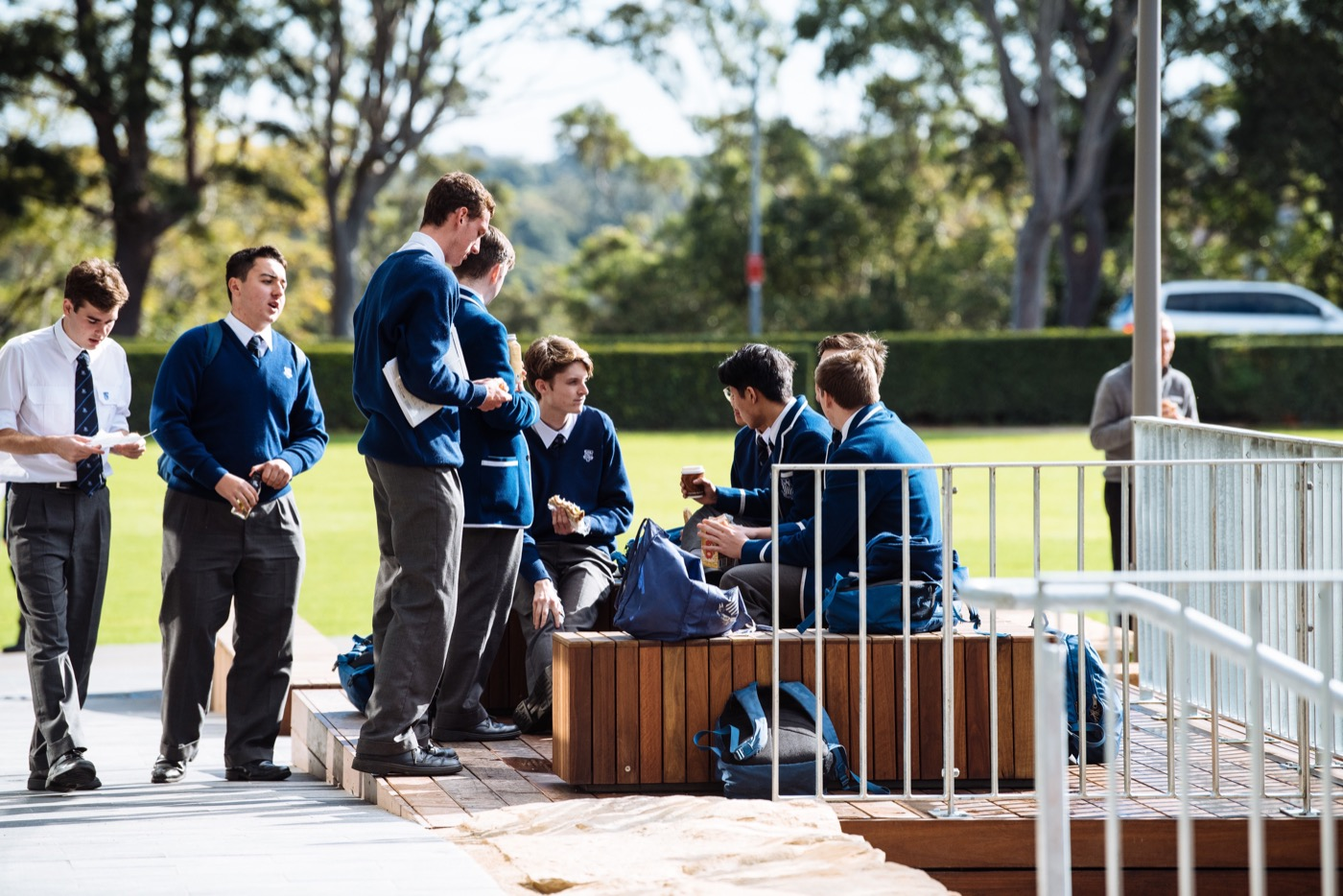 Therry Courtyard, St Ignatius Riverview by Arcadia Landscape