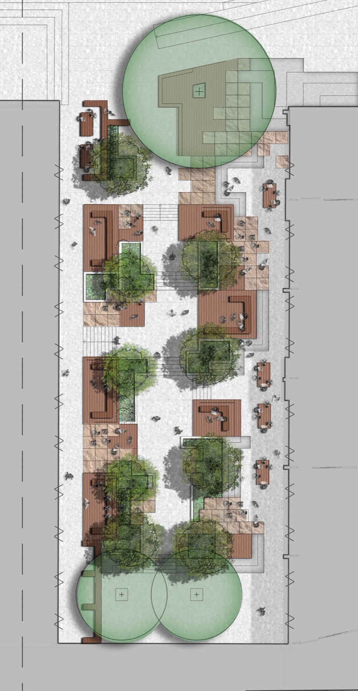 Arcadia Landscape Design: Therry Courtyard, St Ignatius Riverview By Arcadia