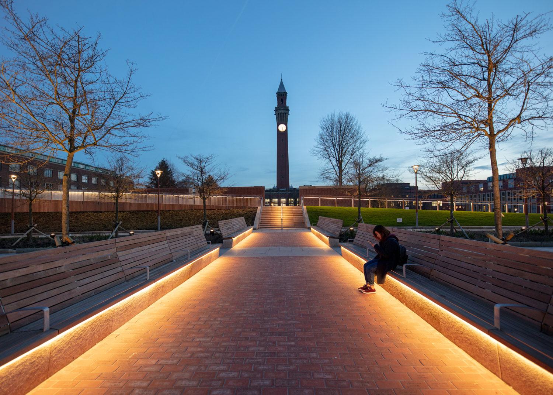 The University of Birmingham – The Green Heart by Churchman