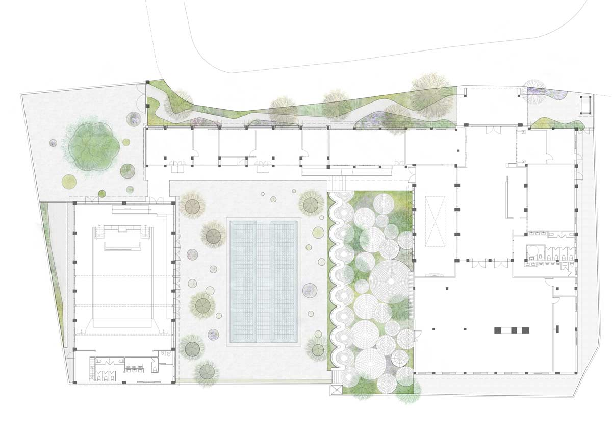 The Brick Yard 33 1/3 by MOTIF « Landscape Architecture