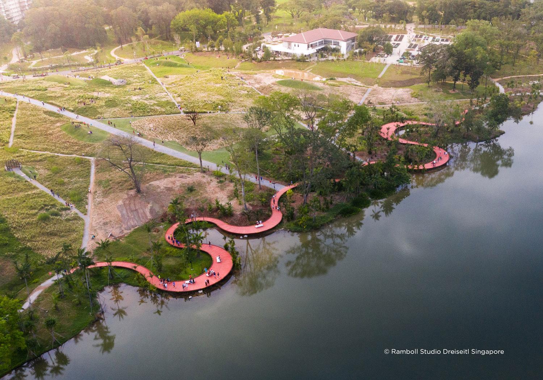 Lakeside Garden by Ramboll Studio Dreiseitl « Landscape Architecture
