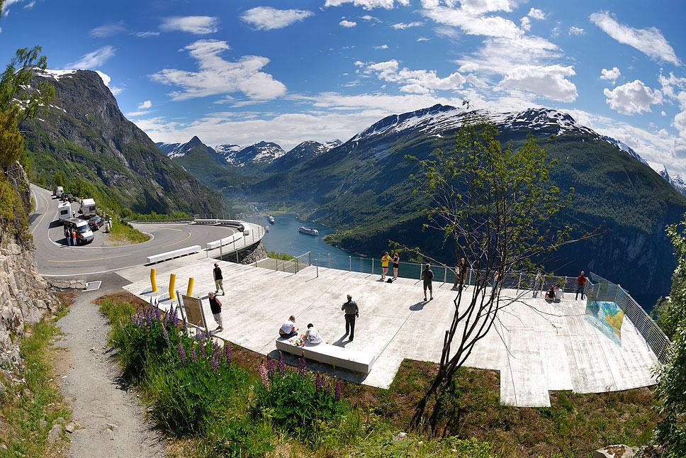 Resultado de imagen para Ørnesvingen mirador