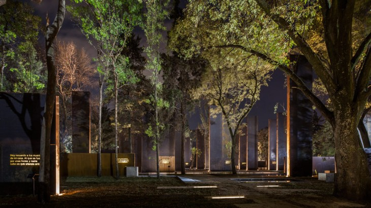 Memorial to Victims of Violence in Mexico by Gaeta Springall Architects